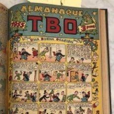 Tebeos: AÑOXXXIX-SEGUNDA EPOCA-Nº89- COLECCIÓN TBO ALMANAQUE 1955 (20€). Lote 147703774