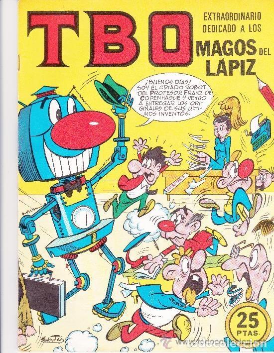 EXTRAORDINARIO DEDICADO A LOS MAGOS DEL LAPIZ TBO (Tebeos y Comics - Buigas - TBO)