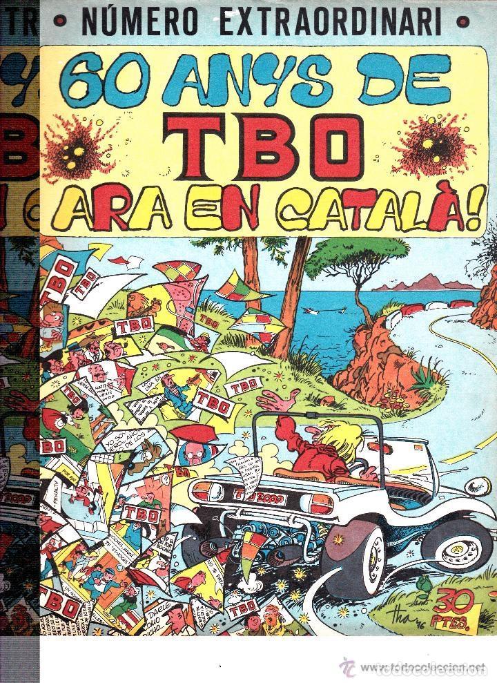 TBO Nº EXTRAORDINARIO 60 AÑOS TBO ARA EN CATALÀ (Tebeos y Comics - Buigas - TBO)