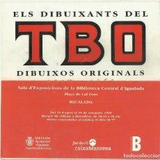 Tebeos: ELS DIBUIXANTS DEL TBO. 1917 - 1960. CATÀLEG EXPOSICIÓ BIBLIOTECA CENTRAL D'IGUALADA, 1999. Lote 150643078