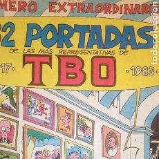 Tebeos: TBO NÚMERO EXTRAORDINARIO 32 PORTADAS. Lote 150666154