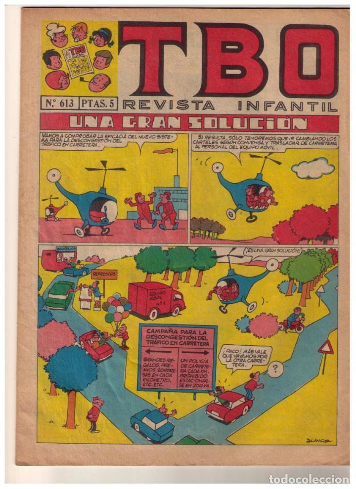TBO 2 ª EPOCA - Nº 613 (Tebeos y Comics - Buigas - TBO)