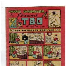 Tebeos: CUADERNO EXTRAORDINARIO DE EDICIONES TBO. ÁLBUM 5. DIBUJADO POR A.PERRÉ. BUIGAS,1947.. Lote 151028850