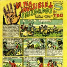 Tebeos: EPISODIOS Y AVENTURAS DE S - EDICIONES TBO - LA TEA INVISIBLE DE SEISDEDOS. Lote 151507182