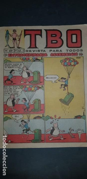TBO Nº 459 EDICIONES BUIGAS ESTADO NORMAL MIRE MIS OTROS ARTICULOS (Tebeos y Comics - Buigas - TBO)