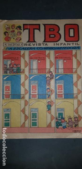 TBO Nº 545 EDICIONES BUIGAS ESTADO NORMAL MIRE MIS OTROS ARTICULOS (Tebeos y Comics - Buigas - TBO)