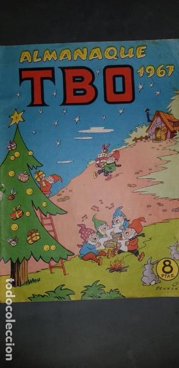ALMANAQUE TBO 1967 EDICIONES BUIGAS ESTADO NORMAL MIRE MIS OTROS ARTICULOS (Tebeos y Comics - Buigas - TBO)