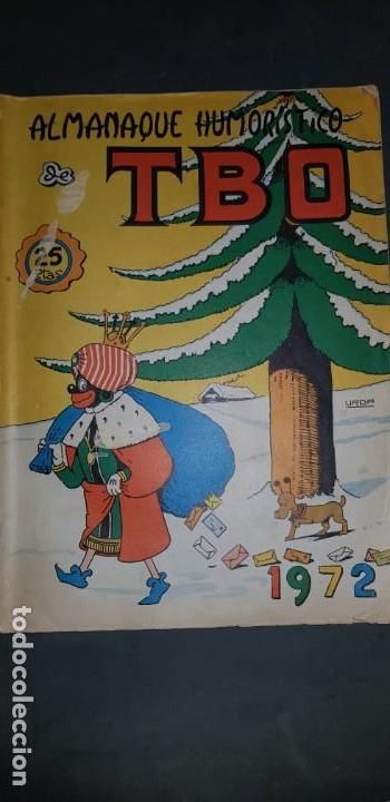 ALMANAQUE HUMORISTICO DE TBO 1972 EDICIONES BUIGAS ESTADO NORMAL MIRE MIS OTROS ARTICULOS (Tebeos y Comics - Buigas - TBO)