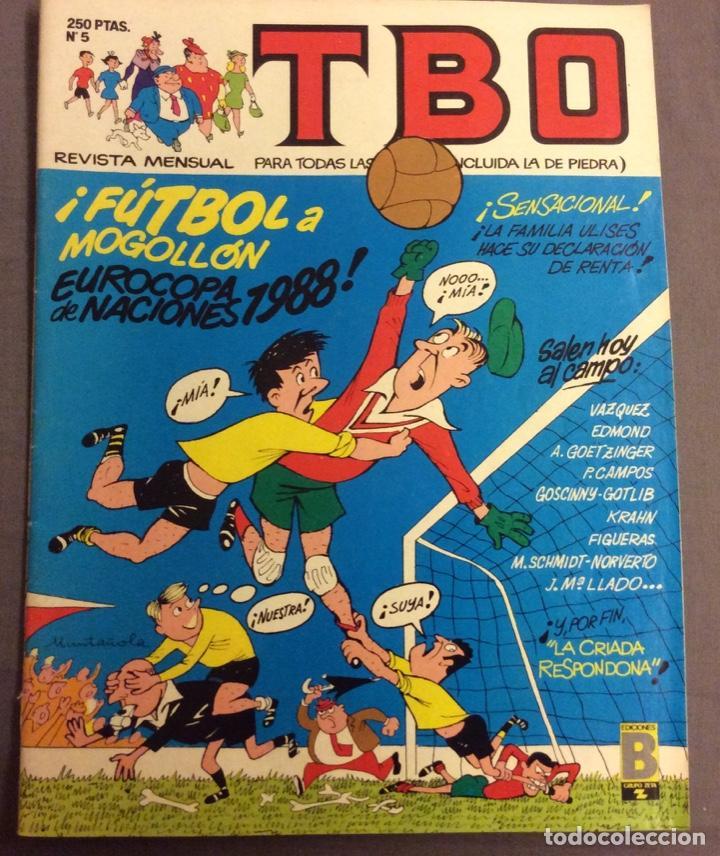 TBO N-5 . JUNIO 1988 (Tebeos y Comics - Buigas - TBO)
