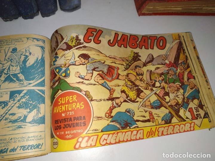 LOTE TEBEOS COMIC ANTIGUO EL JABATO Y COSACO VERDE (Tebeos y Comics - Buigas - Otros)