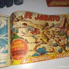 Tebeos: LOTE TEBEOS COMIC ANTIGUO EL JABATO Y COSACO VERDE. Lote 151909426