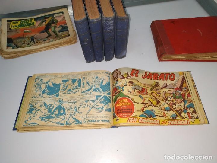 Tebeos: lote tebeos comic antiguo el jabato y cosaco verde - Foto 2 - 151909426