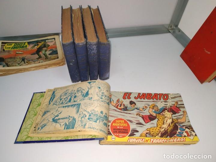 Tebeos: lote tebeos comic antiguo el jabato y cosaco verde - Foto 3 - 151909426