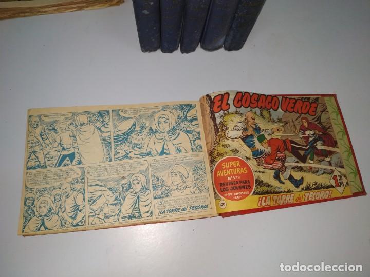 Tebeos: lote tebeos comic antiguo el jabato y cosaco verde - Foto 4 - 151909426