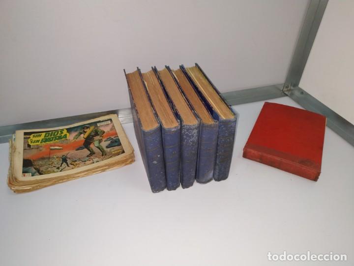 Tebeos: lote tebeos comic antiguo el jabato y cosaco verde - Foto 5 - 151909426