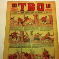 Tebeos: TBO - 10 CTS. - AÑO VII (1923) - Nº. 317. Lote 153917830