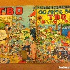 Tebeos: TBO - EXTRAS EN CATALÀ- LOTE DE 2. Lote 153943118