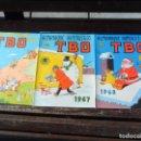 Tebeos: TBO ALMANAQUE 1967, ALMANAQUE HUMORÍSTICO 1967 Y 1968 Y TRES EXTRAORDINARIOS.. Lote 154596666
