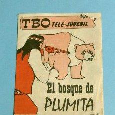 Tebeos: TBO TELE-JUVENIL - EL BOSQUE DE PLUMITA ED. GRAELL (¿JACKY EL BOSQUE DE TALLAC?). Lote 154701738