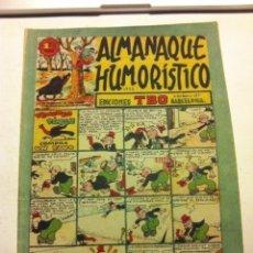 Tebeos: TBO - ALMANAQUE HUMORÍSTICO 1948 (MUY BIEN CONSERVADO). Lote 155413522