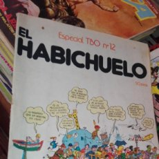 Tebeos: ESPECIAL TBO N.º 12. EL HABICHUELO. BUIGAS, ESTIVIL Y VIÑA, 1958. Lote 155497798