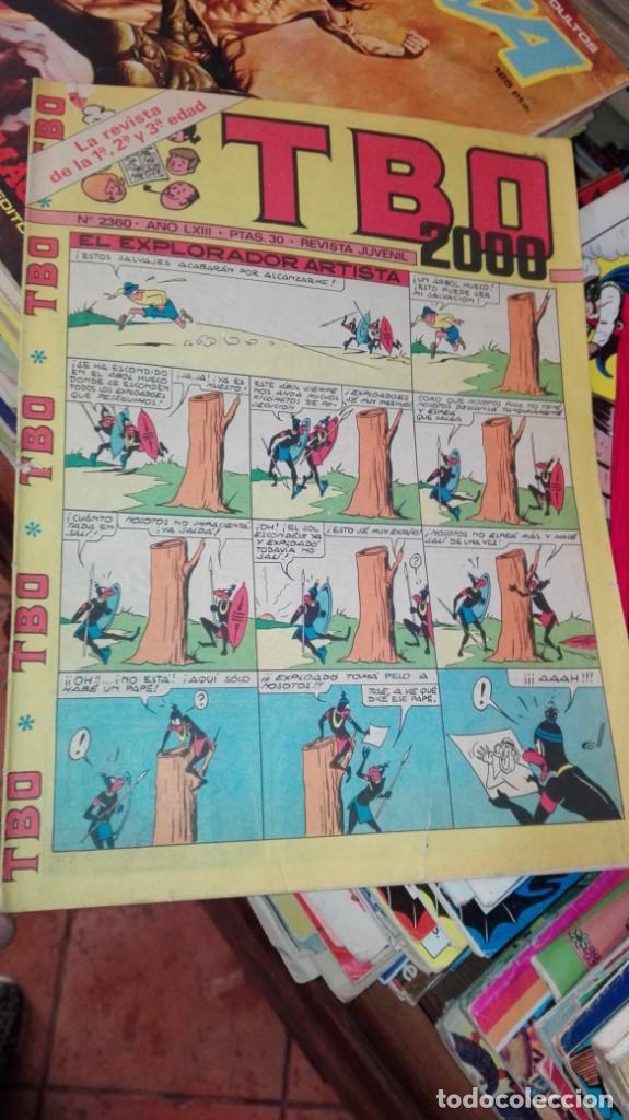 TBO 2000. Nº. 2360. 30 PTS. ORIGINAL 1979 (Tebeos y Comics - Buigas - TBO)