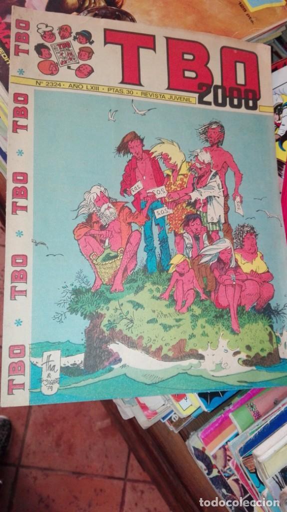 TBO 2000, Nº 2324 - EDITORIAL BUIGAS 1972 (Tebeos y Comics - Buigas - TBO)