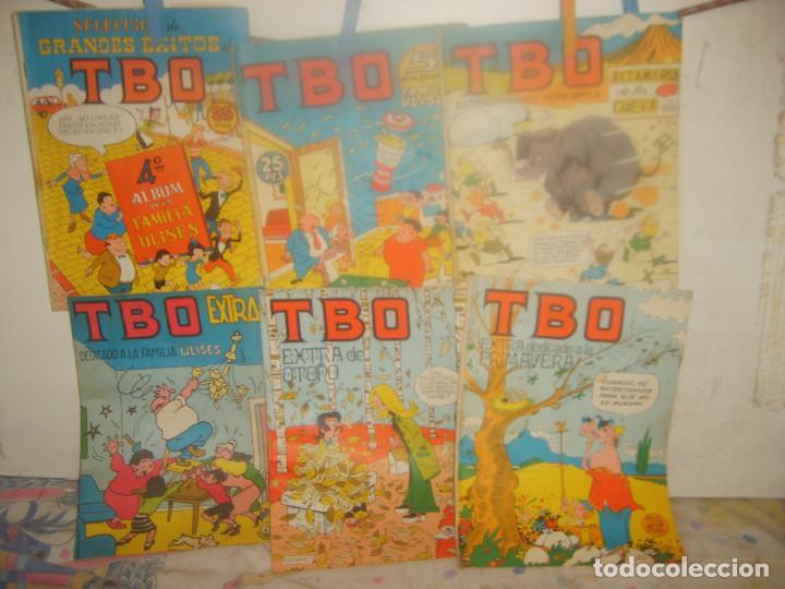 TBO EXTRA 4º Y 5º, ÁLBUM FAMILIA ULISES, ALTAMIRANO DE LA CUEVA, PRIMAVERA Y OTOÑO. PORTES GRATIS. (Tebeos y Comics - Buigas - TBO)