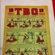 Tebeos: TBO- Nº 400 - AÑO IX -(1925) - MY BIEN CONSERVADO. Lote 155526522