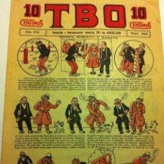 Tebeos: TBO .- Nº. 392- AÑO VIII- AÑO 1924 - COMPLETAMENTE NUEVO - 10 CTS. Lote 155527134