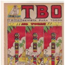 Tebeos: TBO 2 ª EPOCA - Nº 403 - MUY BUEN ESTADO. Lote 156450526
