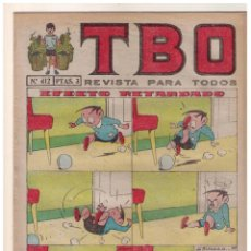 Tebeos: TBO 2 ª EPOCA - Nº 412 - MUY BUEN ESTADO. Lote 156450726