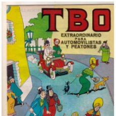 Tebeos: TBO 2 ª EPOCA EXTRAORDINARIO PARA TURISMOS Y PEATONES 1965 - MUY BUEN ESTADO. Lote 156451170