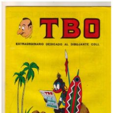 Tebeos: TBO 2 ª EPOCA EXTRAORDINARIO DEDICADO AL DIBUJANTE COLL 1966 - MUY BUEN ESTADO - 1. Lote 156451266