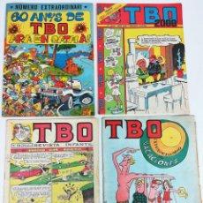 Tebeos: 4 REVISTA INFANTIL TBO. VV. AA. EDITADO BUIGAS. ESTIVILL Y VIÑA. S.A. BARCELONA 1967/77/79. Lote 156493814