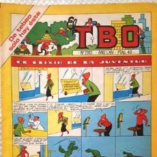 Tebeos: EL TBO Nº 2383 AÑO LXIV DE BUIGAS. Lote 156675890