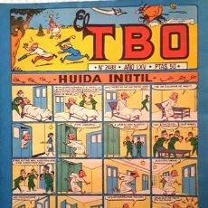 Tebeos: EL TBO Nº 2488 - AÑO LXV - DE BUIGAS -. Lote 156724346
