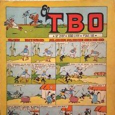 Tebeos: EL TBO Nº 2497 - AÑO LXVI - DE BUIGAS -. Lote 156725102