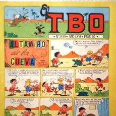 Tebeos: EL TBO Nº 2499 - AÑO LXVII - DE BUIGAS -. Lote 156725166