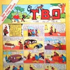 Tebeos: EL TBO Nº 2399 - AÑO LXIV - DE BUIGAS -. Lote 156728766