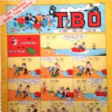 Tebeos: EL TBO Nº 2396 - AÑO LXIV - DE BUIGAS -. Lote 156729294
