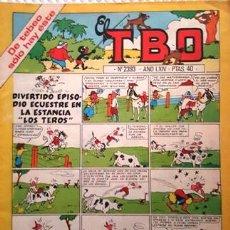 Tebeos: EL TBO Nº 2393 - AÑO LXIV - DE BUIGAS -. Lote 156729518