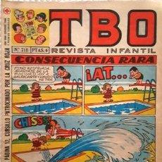 Tebeos: EL TBO Nº 711 - AÑO LV - DE BUIGAS -. Lote 156730226