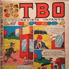 Tebeos: EL TBO Nº 712 - AÑO LV - DE BUIGAS -. Lote 156730286