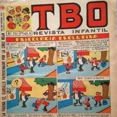 Tebeos: EL TBO Nº 713 - AÑO LV - DE BUIGAS -. Lote 156730398