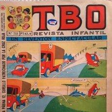 Tebeos: EL TBO Nº 715 - AÑO LV - DE BUIGAS -. Lote 156730590