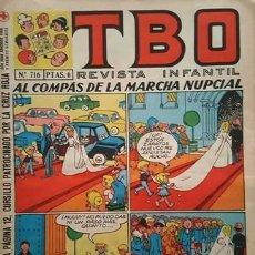 Tebeos: EL TBO Nº 716 - AÑO LV - DE BUIGAS -. Lote 156730670