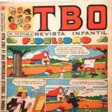 Tebeos: EL TBO Nº 719 - AÑO LV - DE BUIGAS -. Lote 156730786