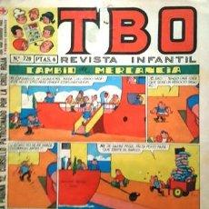 Tebeos: EL TBO Nº 720 - AÑO LV - DE BUIGAS -. Lote 156730874