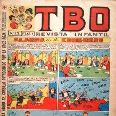 Tebeos: EL TBO Nº 727 - AÑO LV - DE BUIGAS -. Lote 156731210